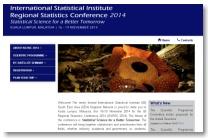 ISI-RSC 2014: ISI Regional Statistics Conference 2014