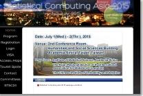 Statistical Computing Asia 2015 image
